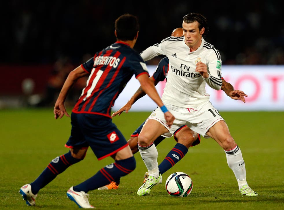 Gareth Bale (right) says he does not want to leave Real Madrid