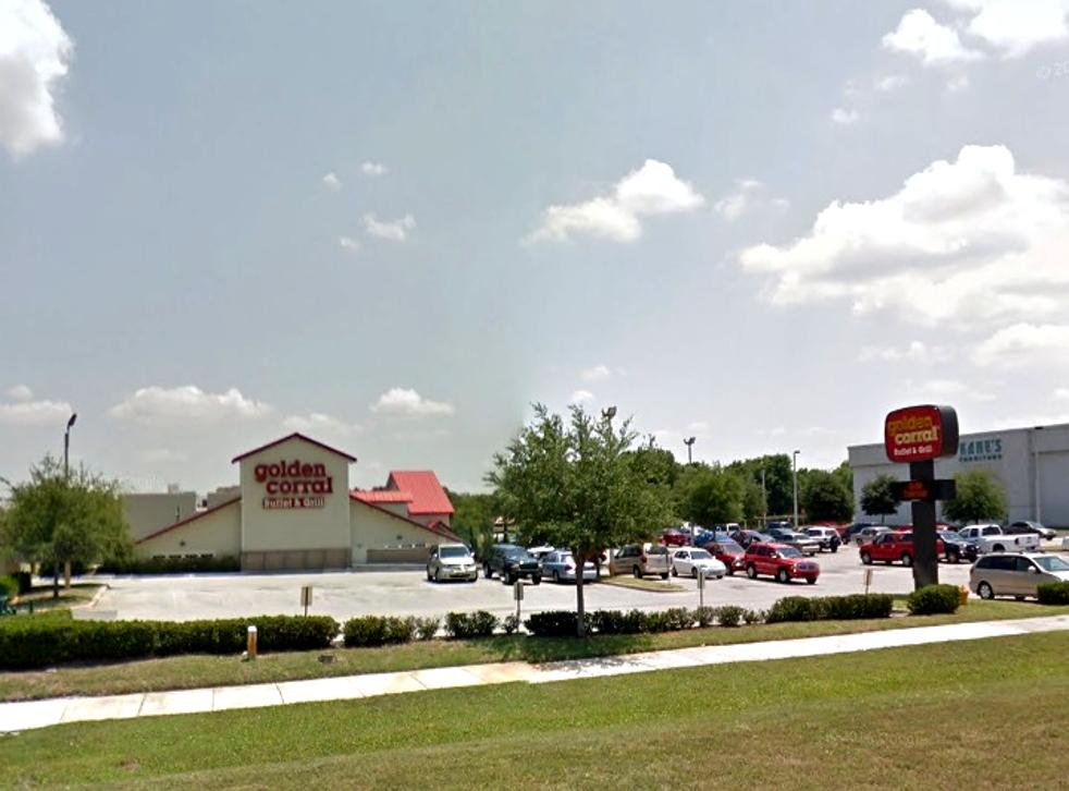 The Golden Corral restaurant in Lakeland, Florida
