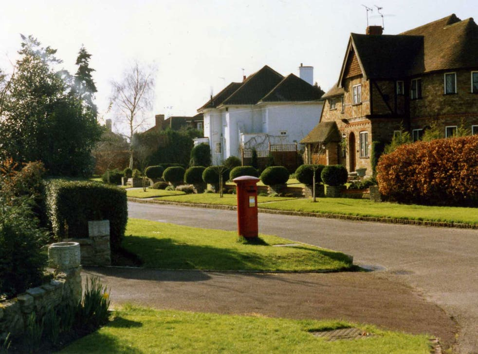 Esher, in Surrey, which recorded the fastest rise in house prices