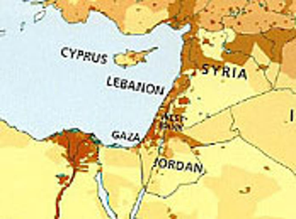 The map omitting Israel published by HarperCollins is available to children in the Middle East