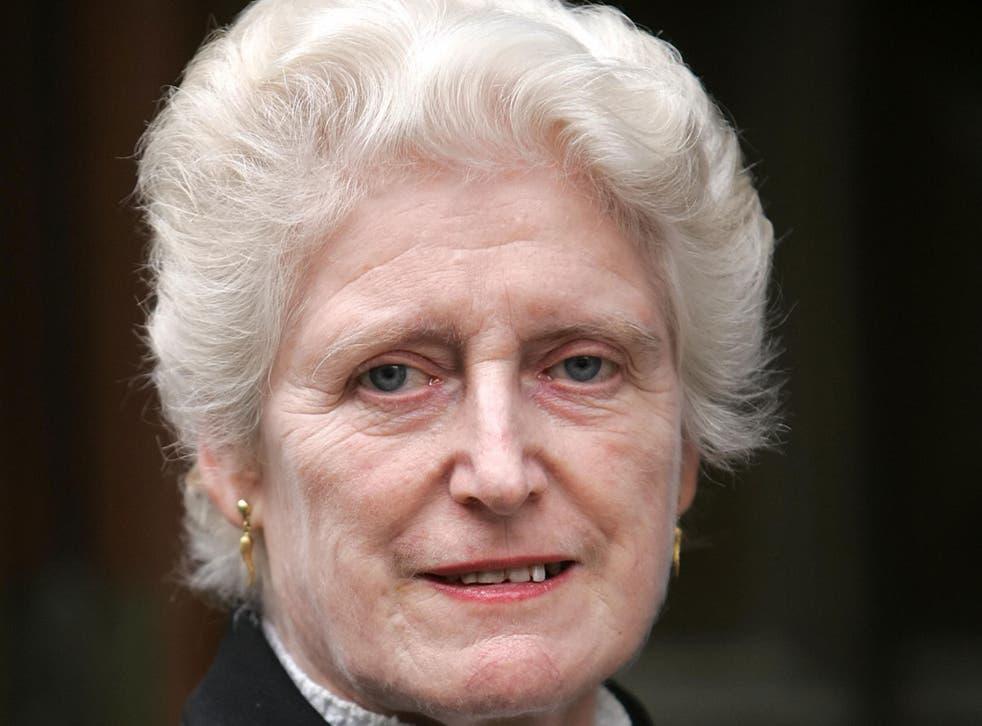 Dame Elizabeth Butler-Sloss, a former High Court judge