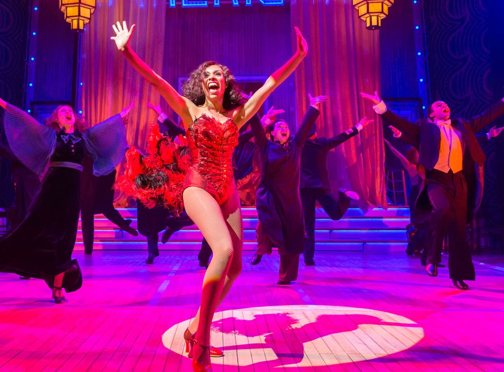 Anything Goes is showing at the Crucible in Sheffield until 17 January, then touring