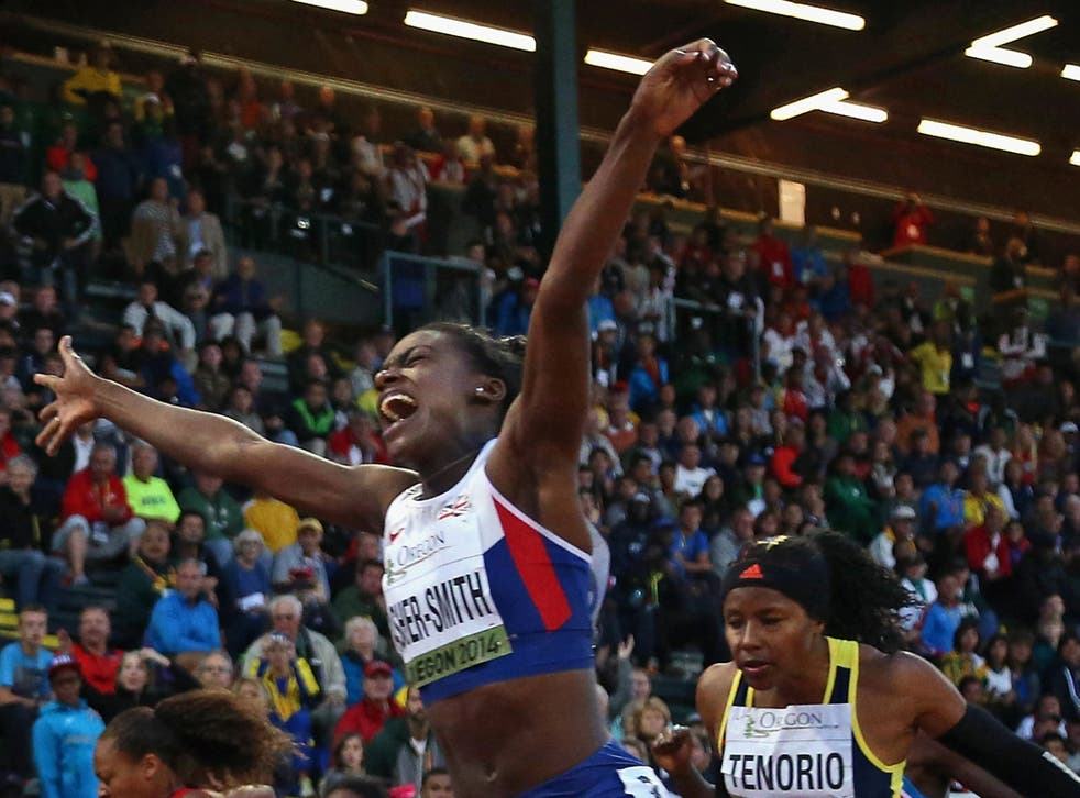 Dina Asher-Smith is now bridging the gap between the junior and senior ranks in sprinting