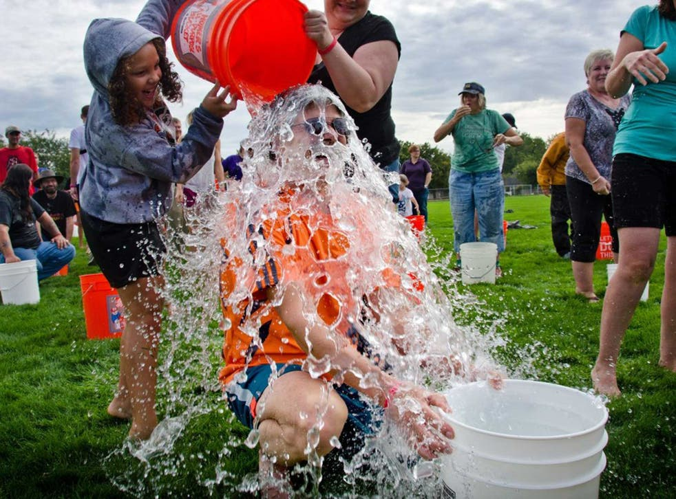 The Ice Bucket Challenge raised millions for two charities – in the UK and in the US