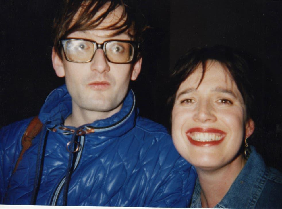 Deborah Bone and Jarvis Cocker together