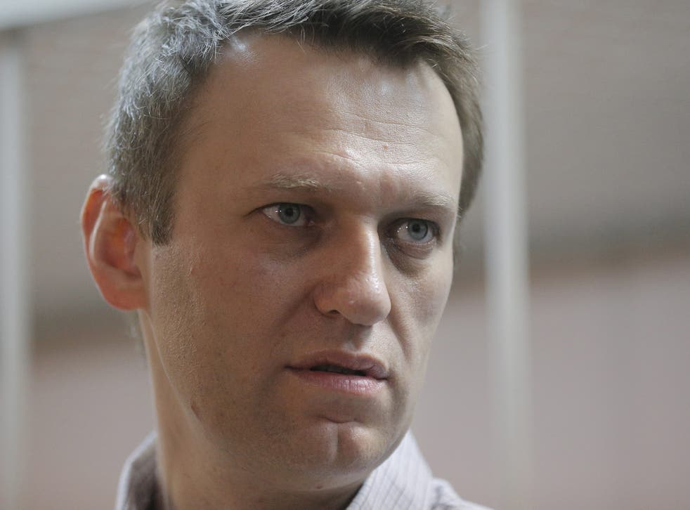 Alexei Navalny, an anti-corruption blogger and as liberal opposition leader