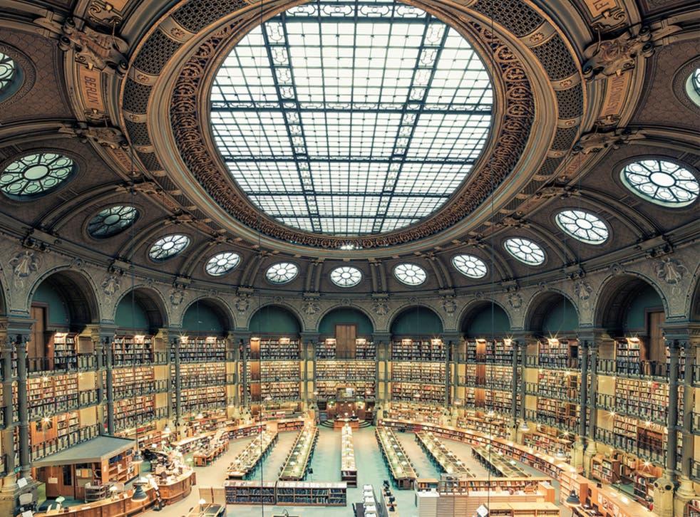 'Bibliotheque Nationale de France, Paris, 2014' by Franck Bohbot (franckbohbot.com)