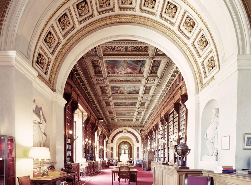 'Bibliotheque du Senat, Paris, 2012' by Franck Bohbot