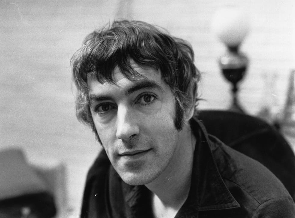 Comedy genius: Peter Cook at his London home in 1972