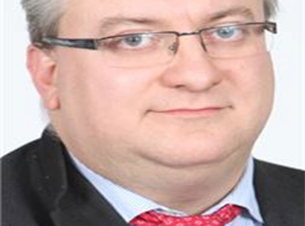 Mark Winn, as pictured on the Aylesbury Vale council website