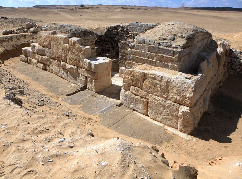 The tomb of Khentakawess III, a queen believed to have been the wife of Pharaoh Neferefre who ruled 4,500 years ago
