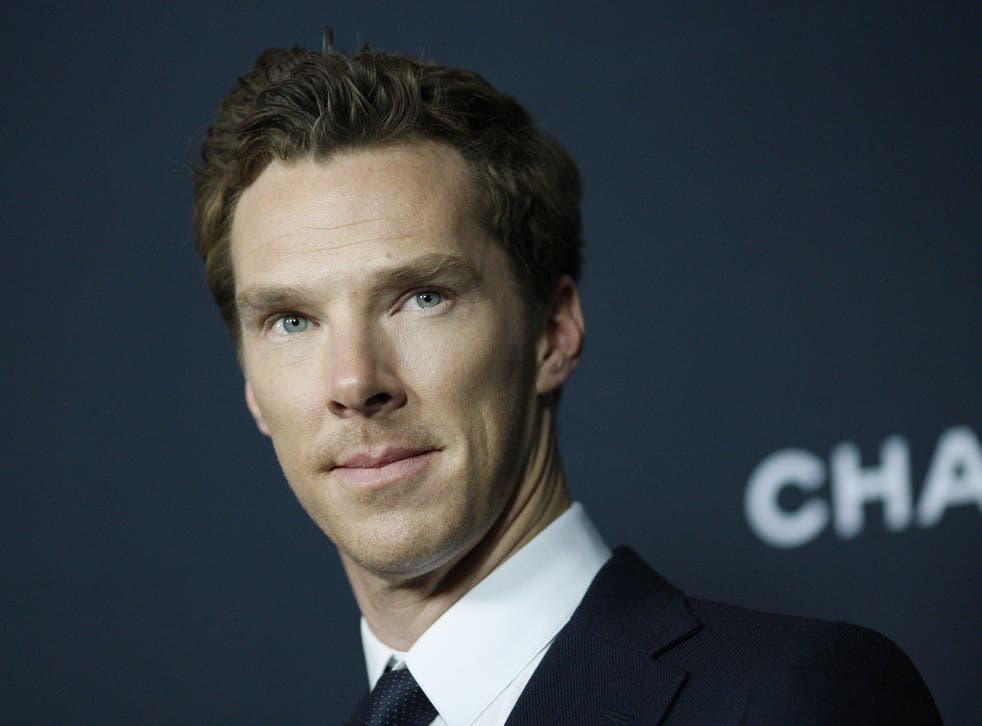 Benedict Cumberbatch attends a special screening of his latest film The Imitation Game