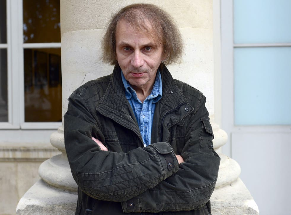 French author Michel Houellebecq