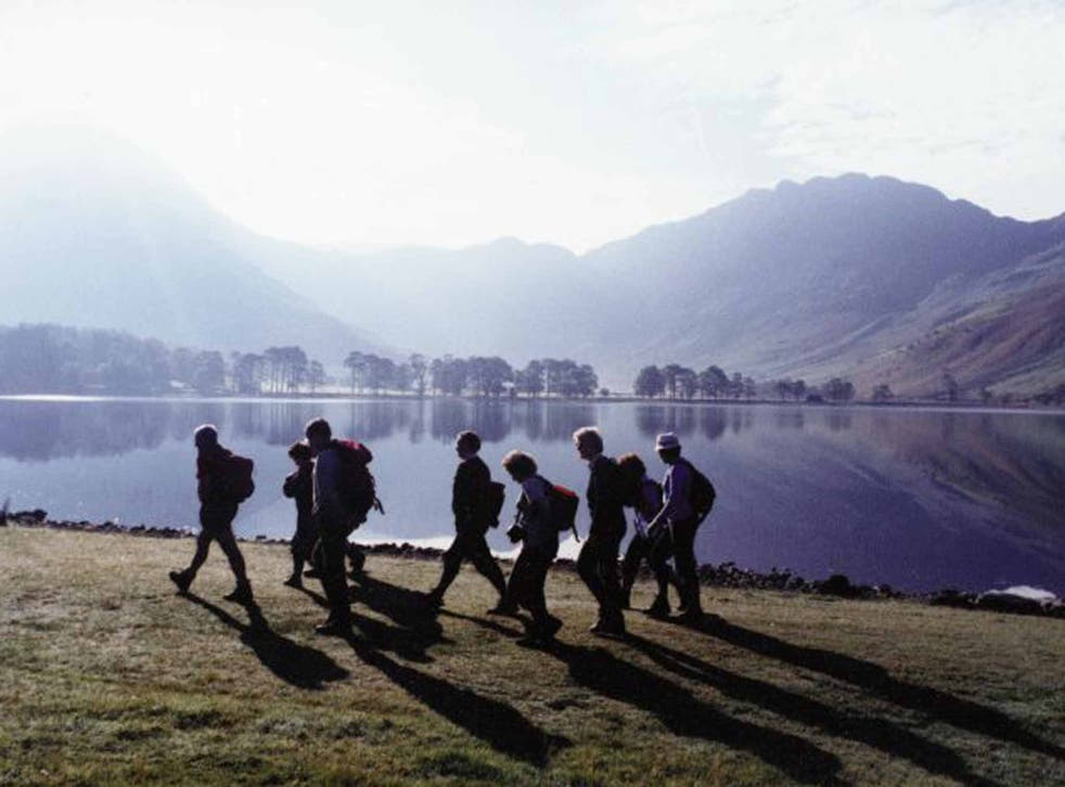 One fell swoop: rambling in the Lakes
