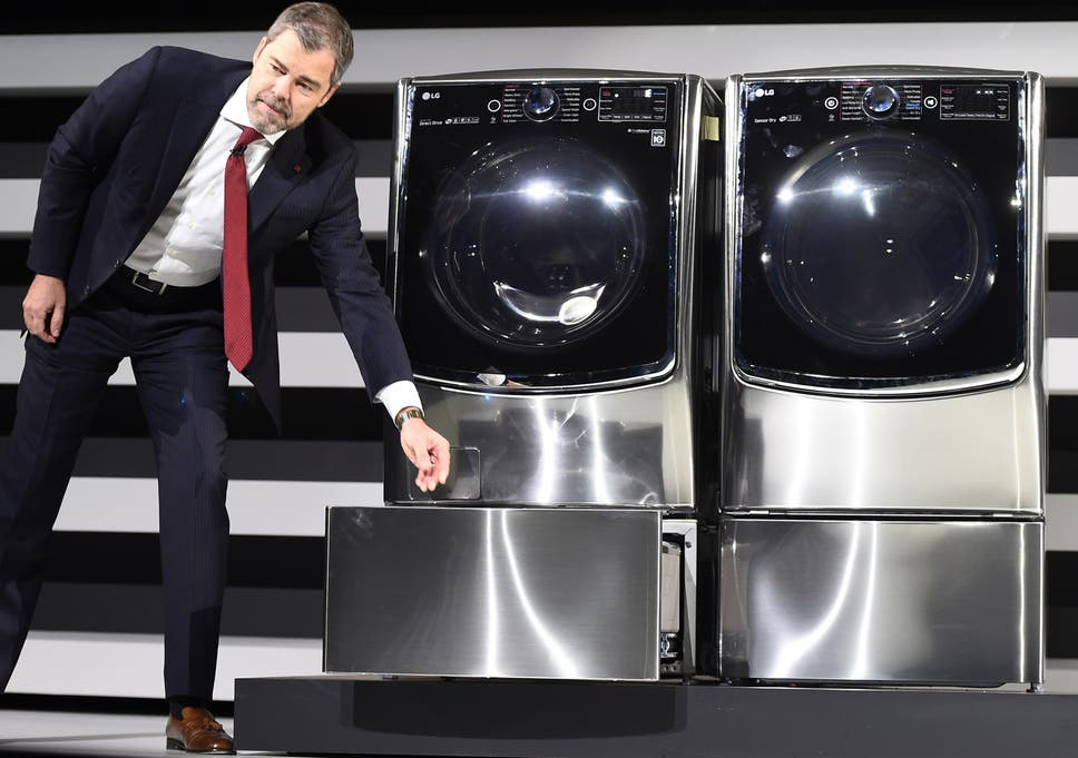 CES 2015: Samsung, LG and Whirlpool announce wifi-enabled washing