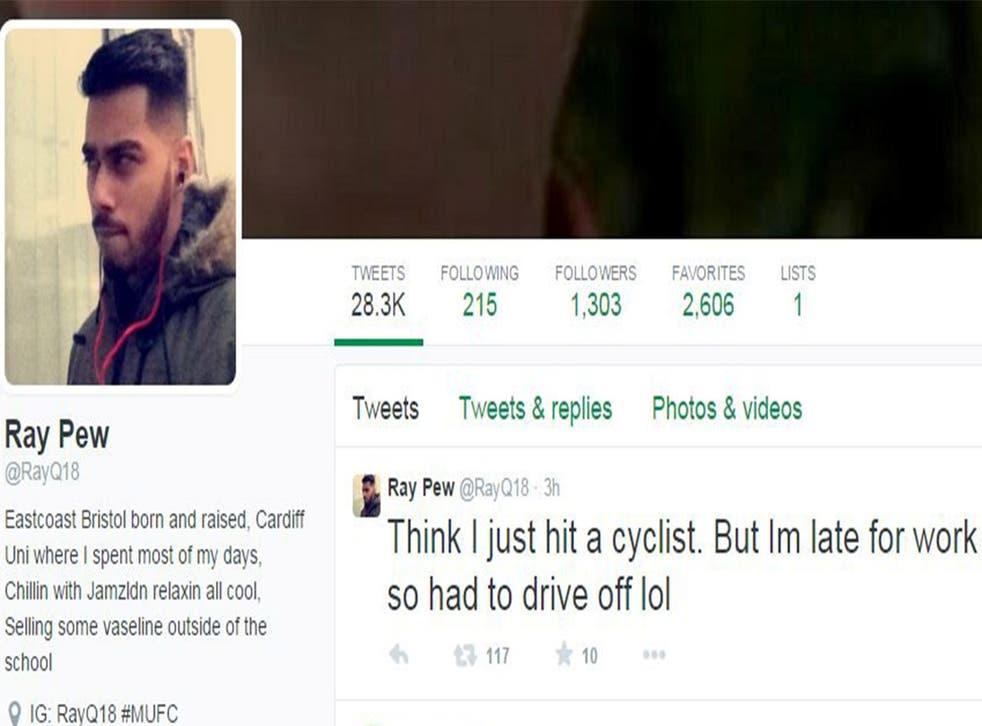 Rayhan Qadar's tweet was shared hundreds of times