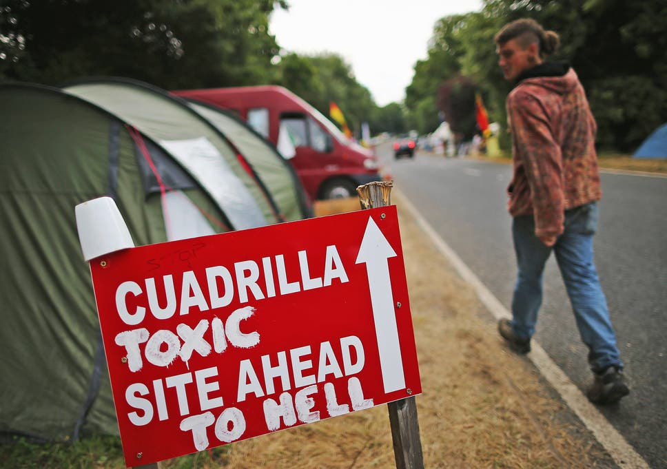 Anti-Cuadrilla group's fracking protest leaflet misleading
