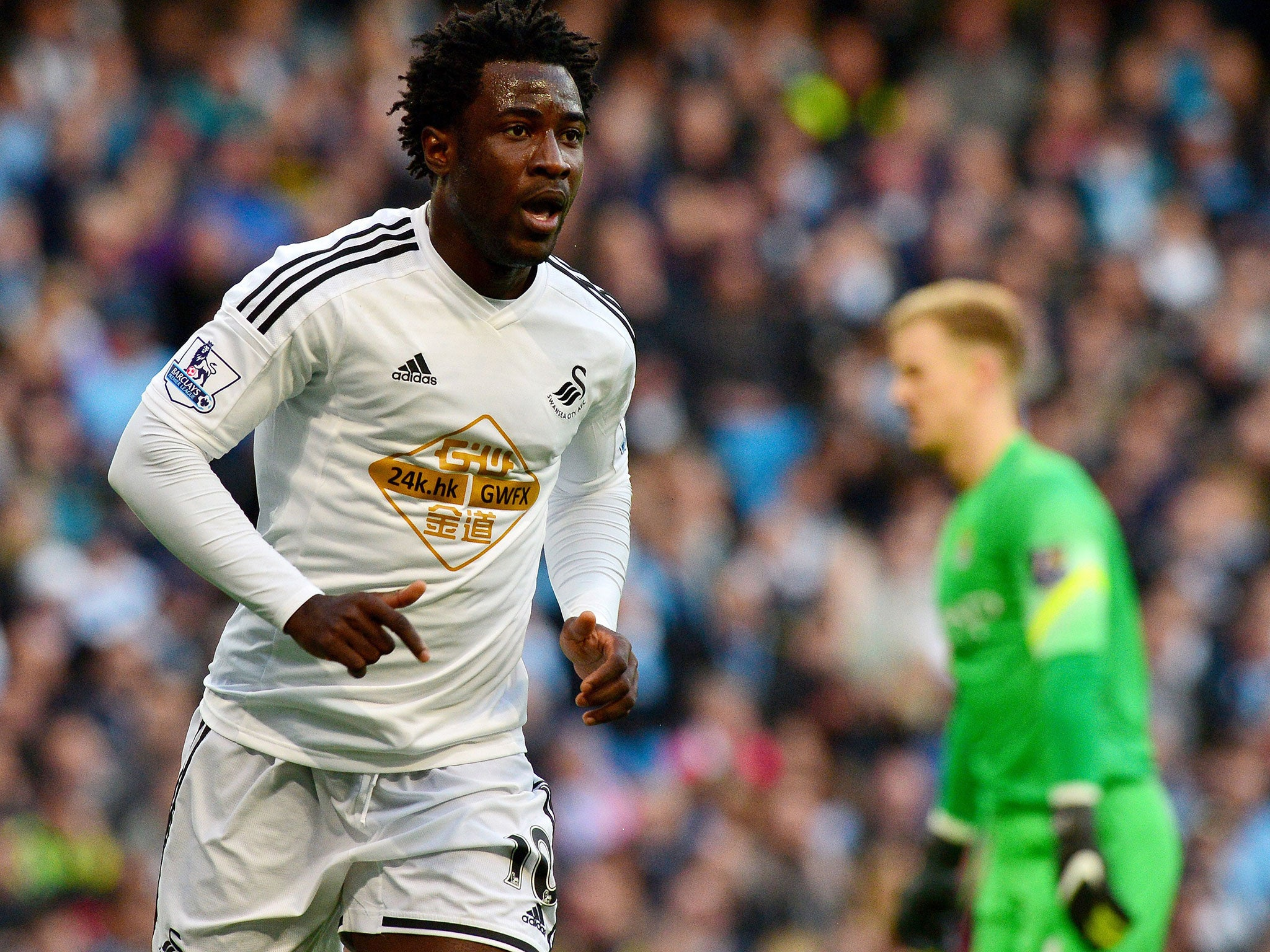 Wilfried Bony to Manchester City Premier League champions join