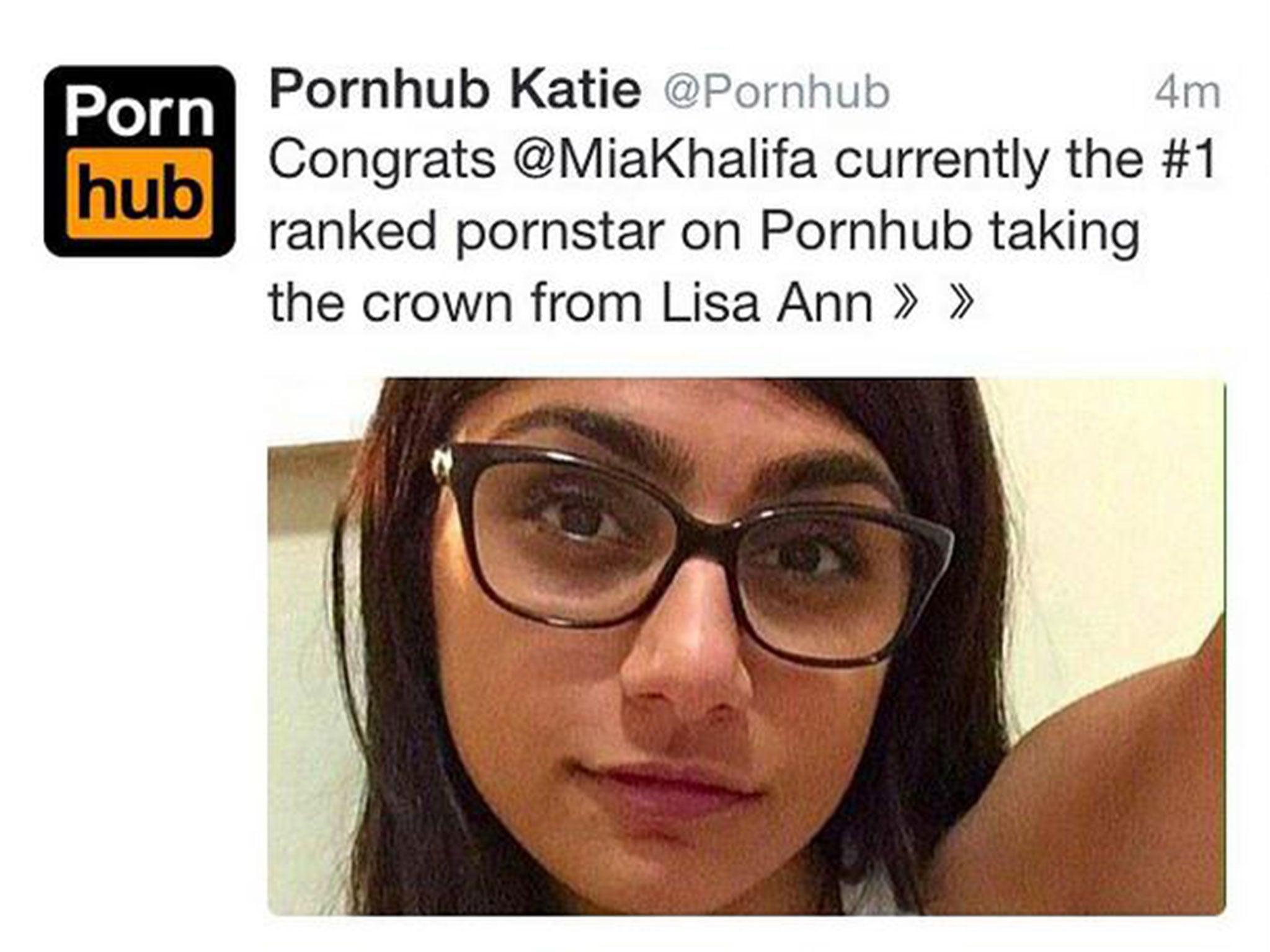 pornhub star mia khalifa receives death threats after being ranked