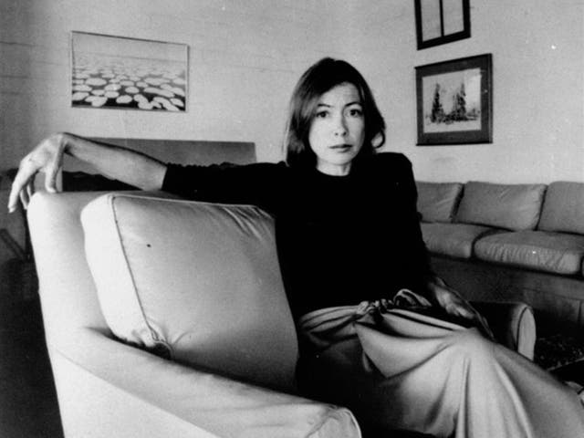 <p>Joan Didion in 1977</p>