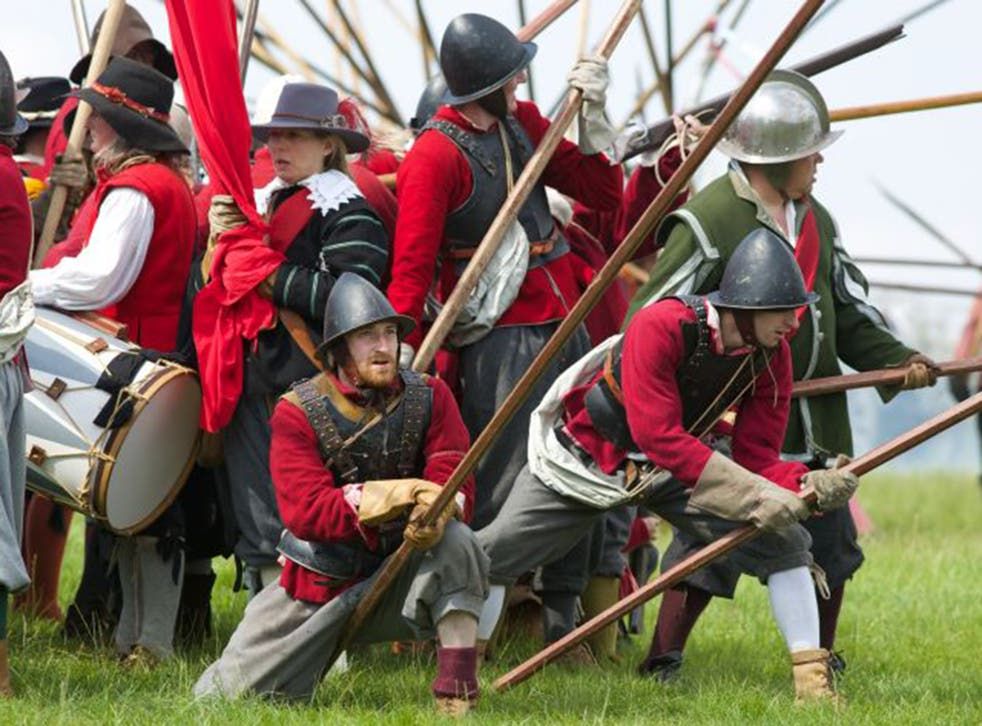 Fight club: the Siege of Marlborough in the English Civil War was relived in 'Weekend Warriors'