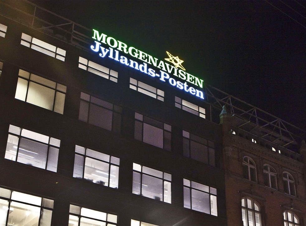Jyllands-Posten headquarters in Copenhagen