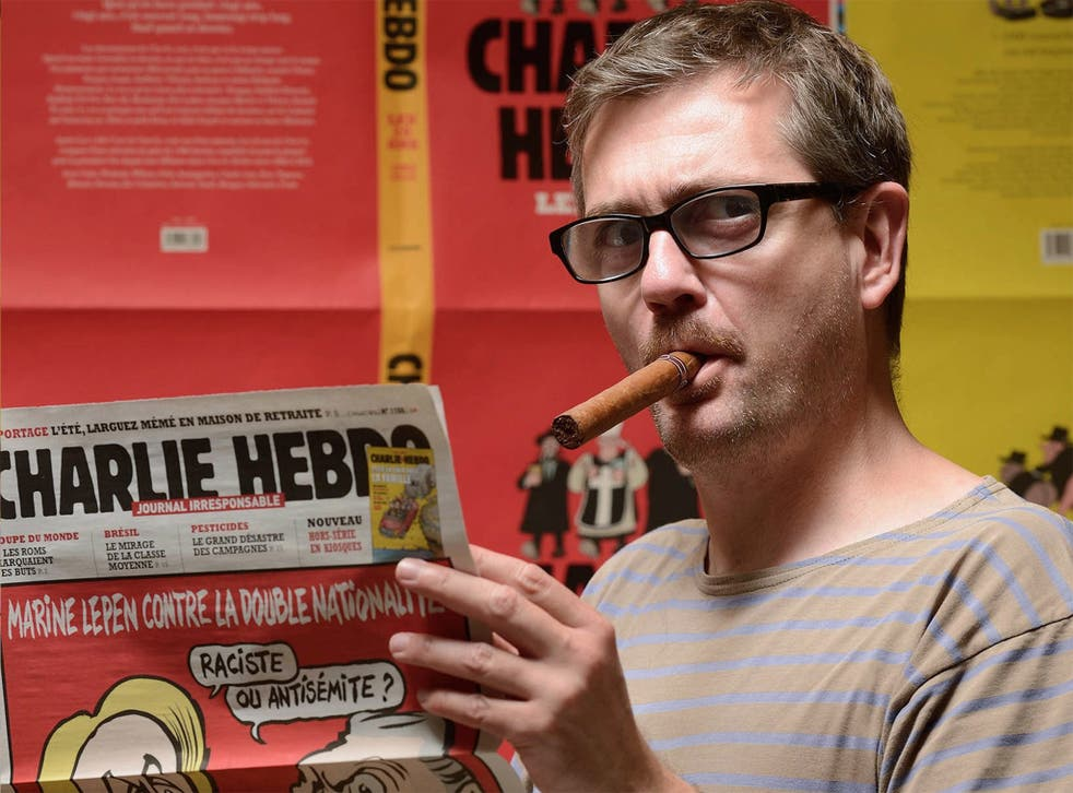 Charb, editor of Charlie Hebdo