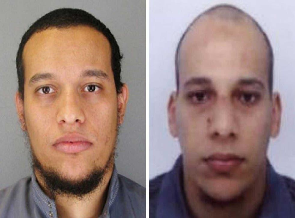 Cherif and Said Kouachi, reportedly 32 and 34