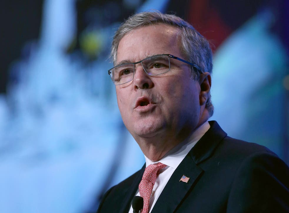 Jeb Bush is 'used to living in the sunshine. Most other candidates are not'