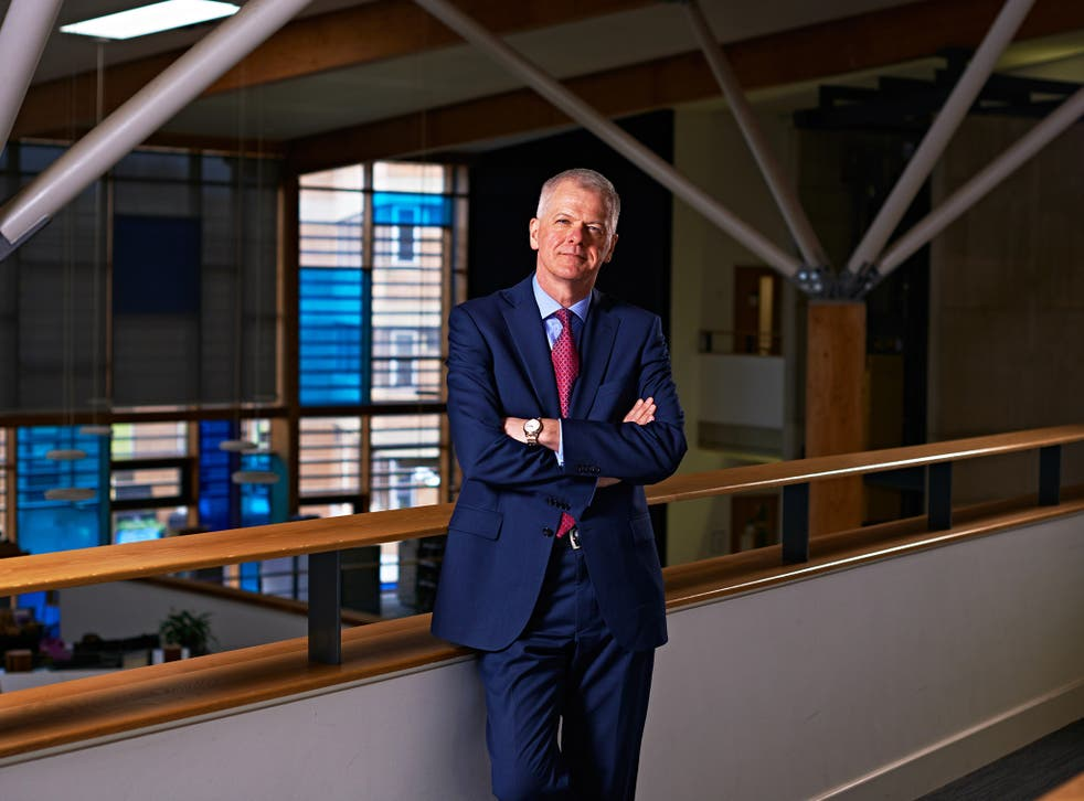 Sir David Bell, who is now vice-chancellor of Reading University