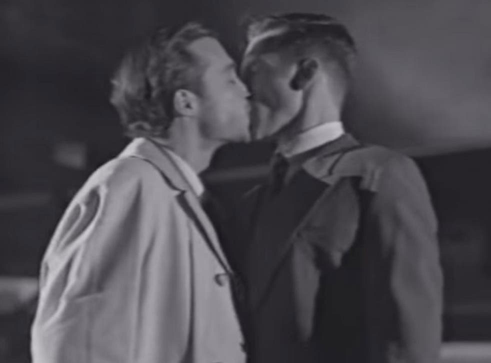 The latest Lynx advert in Australia features a gay kiss