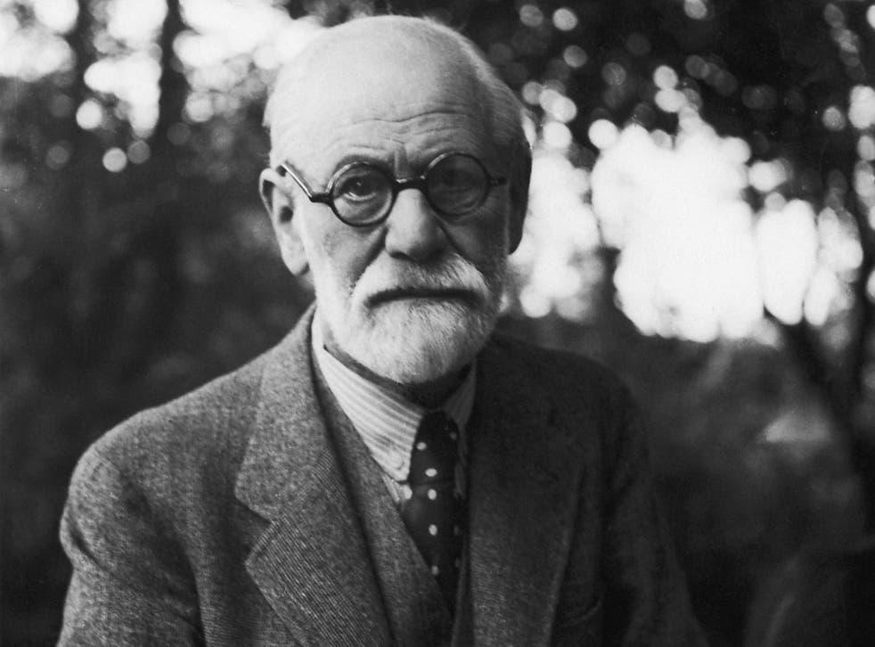 The father of psychoanalysis Sigmund Freud