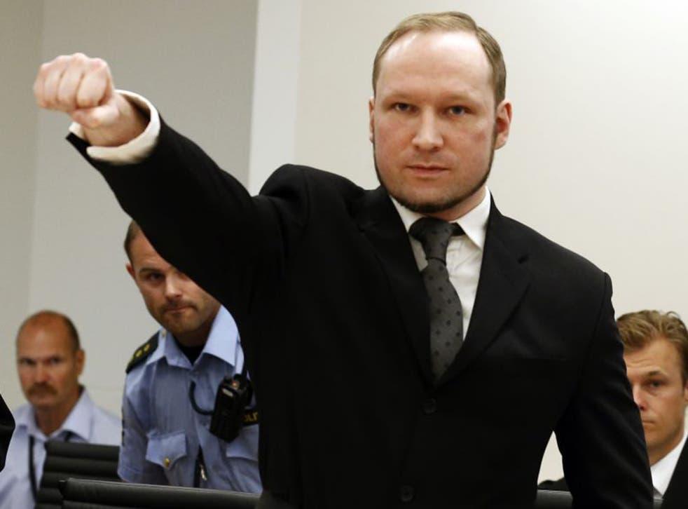 Spree killer Anders Breivik claimed he used video games to 'train' for the murders (EPA)