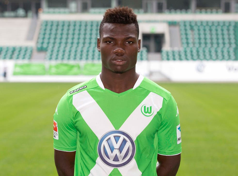 Wolfsburg defensive midfielder Junior Malanda
