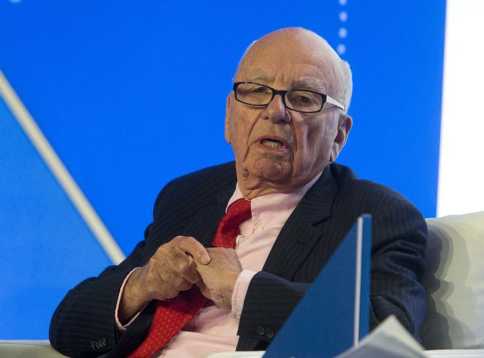 News Corp boss Rupert Murdoch (Getty)