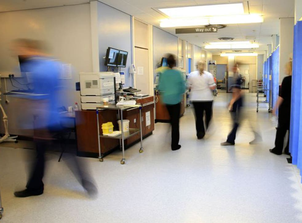 Between October and December 2014 only 83.8 per cent of patients were treated in time