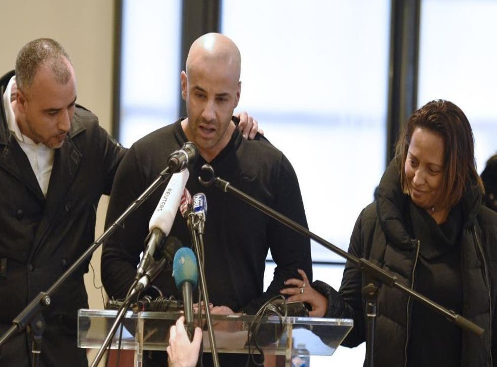 Malek Merabet speaks about the death of his police officer brother Ahmed in the Charlie Hebdo magazine attacks