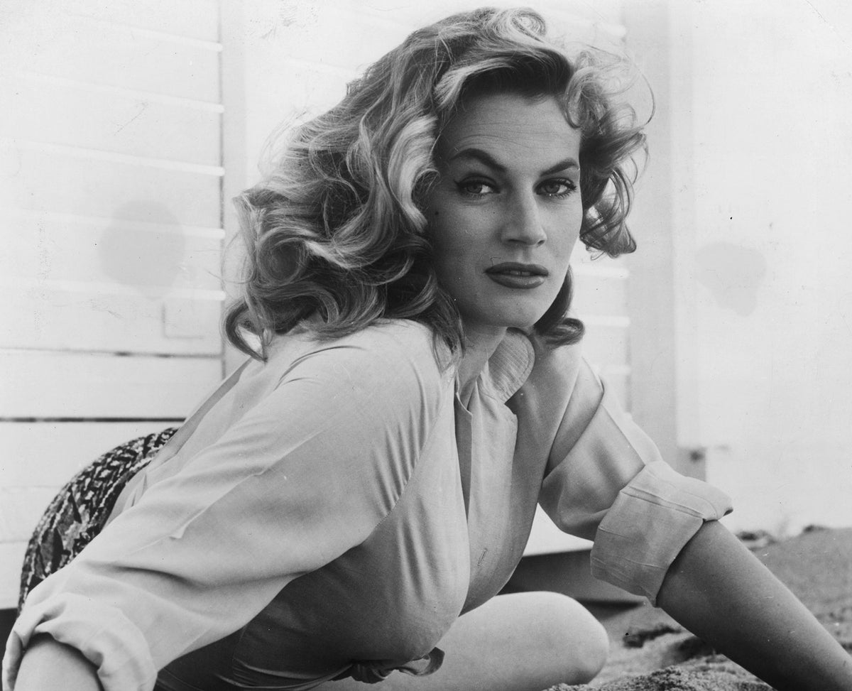 Anita Ekberg Star Of La Dolce Vita Dies Aged 83 The Independent The Independent