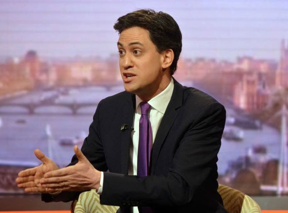 Ed Miliband on the Andrew Marr Show on 11 January 2015