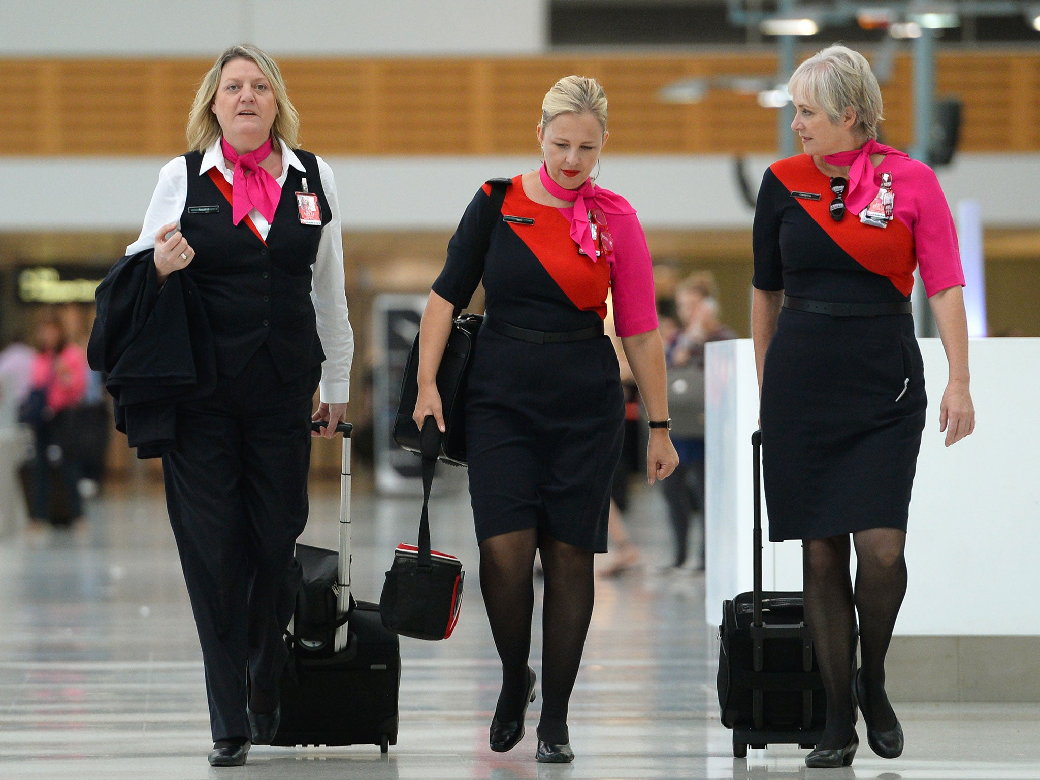 The Iconic Tailoring Of Flight Attendant Uniforms Has