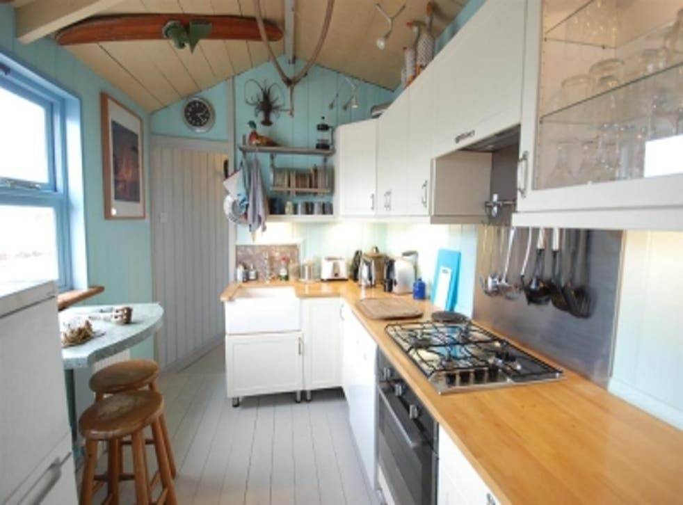 Inside the chalet where David Tennant's character DI Alec Hardy lives during the second series of Broadchurch