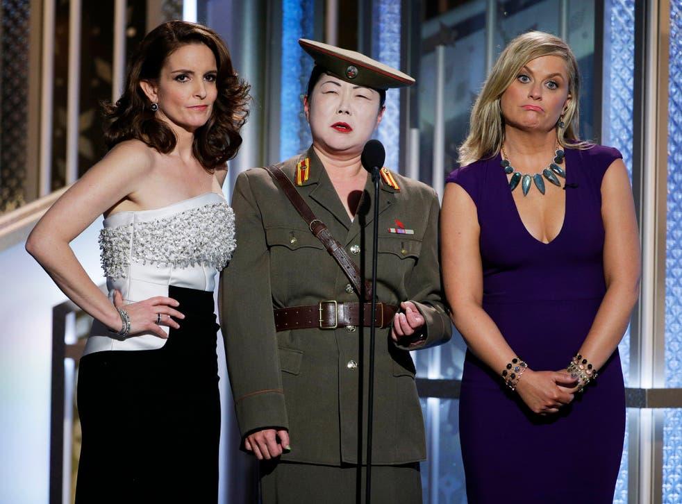 Tina Fey, Margaret Cho and Amy Poehler.