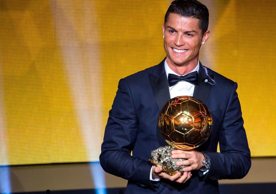 565115e4b08 Cristiano Ronaldo wins Ballon d Or 2014  Real Madrid star wins prestigious  award ahead of Barcelona rival Lionel Messi and Manuel Neuer