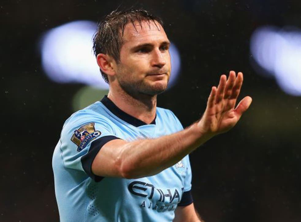 Frank Lampard gave an interview at the weekend that implied City were to blame for the mix-up (Getty)