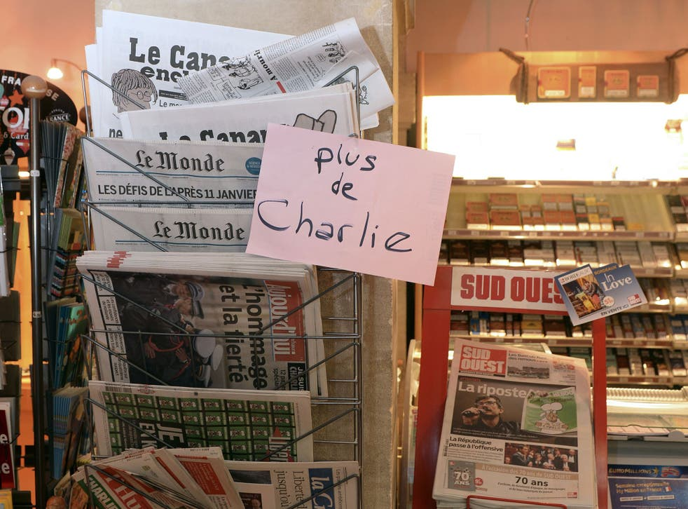 There has been unprecedented demand for the latest edition of Charlie Hebdo
