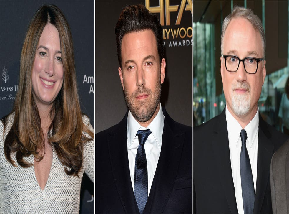 Gillian Flynn, Ben Affleck and David Fincher are working on a reboot of Strangers on a Train