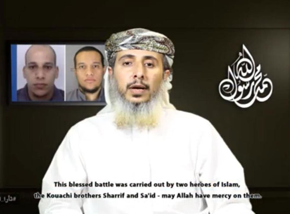 Al-Qaeda ideologue Nasr al-Ansi claimed the attacks in a video