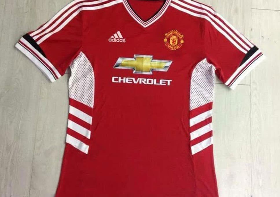 7f3d39881fb Manchester United 2015 16 shirt  United fans slam  hideous  new adidas kit  after leaked potential images hit Twitter