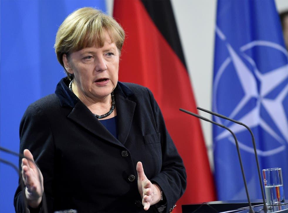 Angela Merkel said Germany still wants Greece to remain within the eurozone