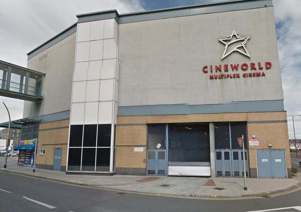 A lesbian couple were kicked out of the toilets in the Ilford Cineworld  after a guard